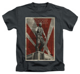 Juvenile: The Dark Knight Rises - Bane Rooftop Poster T-Shirt