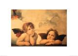 Les Chérubins Posters par  Raphael