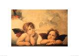 Anioły Plakaty autor Raphael