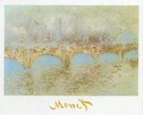 Waterloo Bridge 高品質プリント : クロード・モネ
