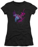 Juniors: The Dark Knight Rises - Batarang (Pink) T-shirts