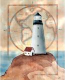 Lighthouse Ocean motivational Posters