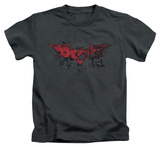 Juvenile: The Dark Knight Rises - Fear Logo T-shirts