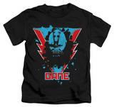 Juvenile: The Dark Knight Rises - Bane Lightning T-shirts
