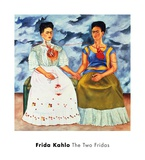 The Two Fridas,, c.1939 Obra de arte por Frida Kahlo