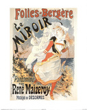 Folies Bergere Le Miroir (Advertisement) Prints