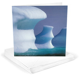 Iceburg Greeting Cards 12 Per Package Note Card Sets