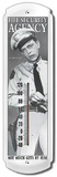 Andy Griffith Barney Fife Security Indoor/Outdoor Thermometer Plechová cedule