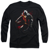 Long Sleeve: The Dark Knight Rises - Ready to Punch T-Shirt