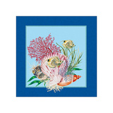 Fishes & Shells II Print