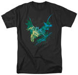 The Dark Knight Rises - Batarang (Green) T-Shirt