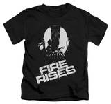 Youth: The Dark Knight Rises - Fire Rises Shirts