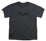 Youth: The Dark Knight Rises - Scratched Logo Shirts