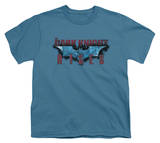Youth: The Dark Knight Rises - Rising Text Shirts