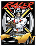 Speed Racer Racer X Retro Vintage TV Tin Sign
