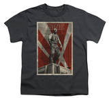 Youth: The Dark Knight Rises - Bane Rooftop Poster T-shirts