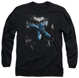 Long Sleeve: The Dark Knight Rises - What Gotham Needs T-Shirt