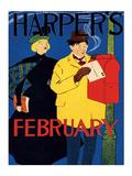 Harper's February Posting Valentine Posters