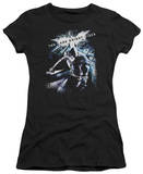 Juniors: The Dark Knight Rises - More than a Man T-shirts