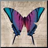 Butterflies IV Mounted Print by Tandi Venter