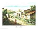 Casa de Villa Print by  D'Anda