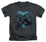 Youth: The Dark Knight Rises - Blue Crackle T-Shirt