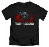 Juvenile: The Dark Knight Rises - Forged in Darkness T-shirts