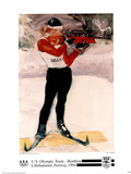 U.S. Olympic Team Biathlon Lillehammer, c.1994 Prints by Dian R. Friedman