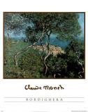 Bordighera Prints by Claude Monet
