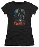 Juniors: The Dark Knight Rises - Rise From the Darkness T-Shirt