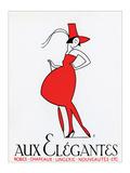 Aux Elegantes Poster