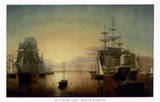 Boston Harbour Art by Fitz Hugh Lane