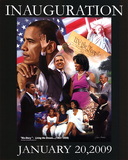 President Barack Obama Inauguration Gregory Print