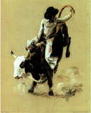 Cowboy Rodeo (Bull Riding no.  1) Posters