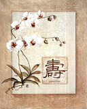 Oriental Long Life Floral Photo