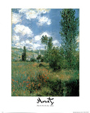 Path in the Ile St Martin Claude Monet Posters