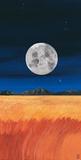 Prarie & Moon Art by Rita Mangano