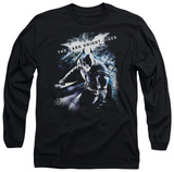 Long Sleeve: The Dark Knight Rises - More than a Man T-Shirt