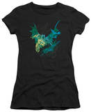 Juniors: The Dark Knight Rises - Batarang (Green) Shirts