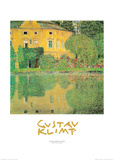 Kammer at Attersee 2 Posters by Gustav Klimt