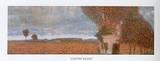 The High Poplar Detail Kunstdrucke von Gustav Klimt