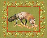 Nice Animals Fox Kunst