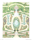 Garden Fountains Posters by Bradley Clark Water