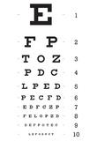 Eye Chart 10-Line Reference Poster Fotografie