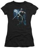 Juniors: The Dark Knight Rises - Balttlefield Gotham T-Shirt
