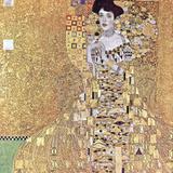 Gustav Klimt - Portrait of Adele Bloch-Bauer I, c.1907 - Poster