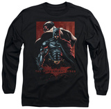 Long Sleeve: The Dark Knight Rises - Batman &amp; Bane Shirt