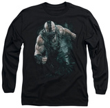 Long Sleeve: The Dark Knight Rises - Bane Rain T-Shirt