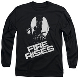 Long Sleeve: The Dark Knight Rises - Fire Rises T-shirts