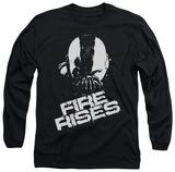 Long Sleeve: The Dark Knight Rises - Fire Rises T-Shirt